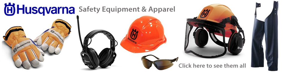 Husqvarna Safety Equipment and Apparel