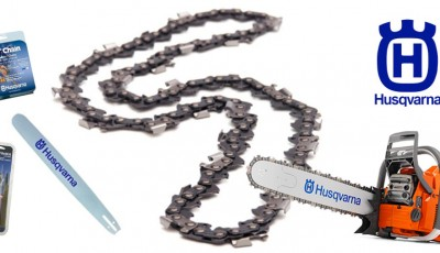 Husqvarna chainsaw chain and bar guide