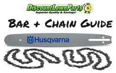 Bar and Chain Guide for Lawn Parts Pro