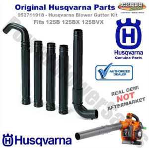 Gutter Kit for Husqvarna 125 Blowers