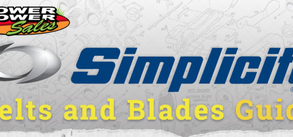 Simplicity Belts and Blades