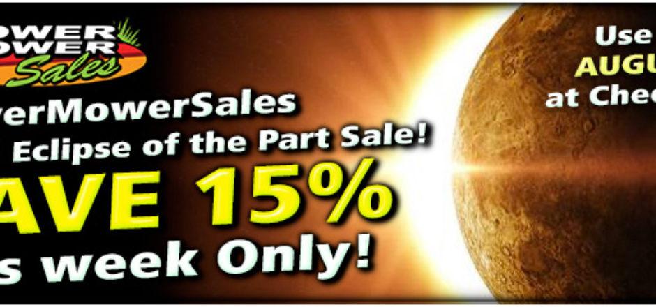 Power Mower Sales discount code