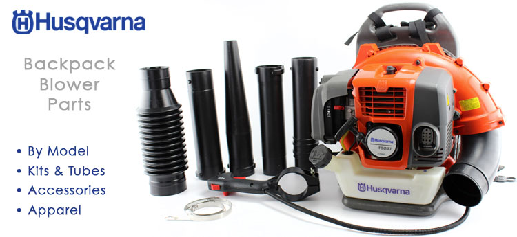 Husqvarna parts sales backpack blower parts