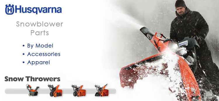 Snowblowers from Husqvarna Parts Sales