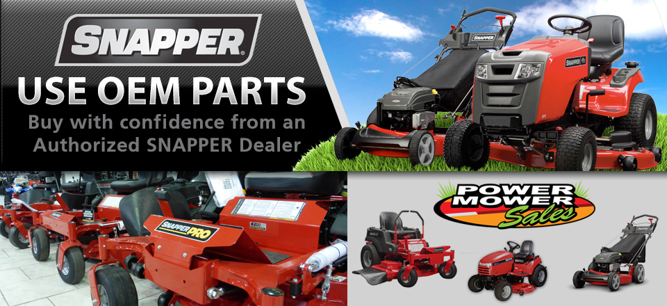 Snapper.parts has genuine Snapper parts!