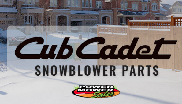 Don't be shy! Power Mower Sales has the Cub Cadet Snowblower parts you're looking for at an incredible price.